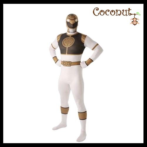 Morphsuit - Power Rangers, White