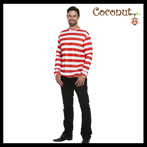 Striped Jumper - Red & White