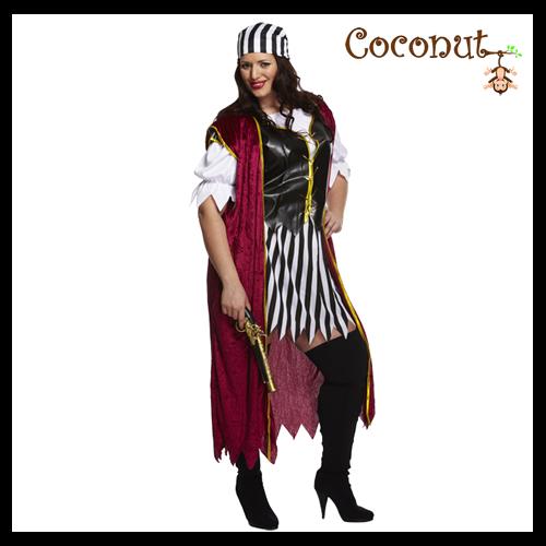 Pirate Woman - Plus Size