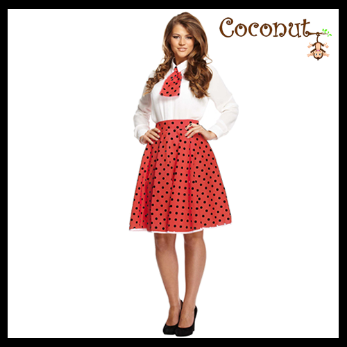 Polka Dot Girl - Red