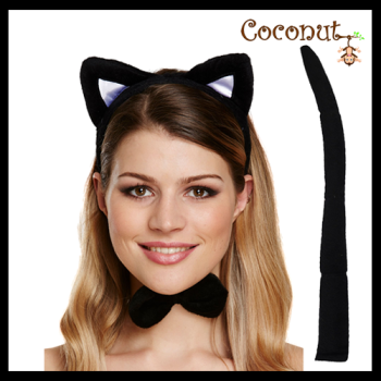 Black Cat Dress-Up Set
