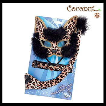 Deluxe Mask, Collar and Tail Set