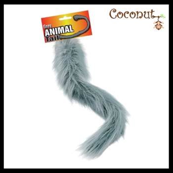 Grey Animal Tail
