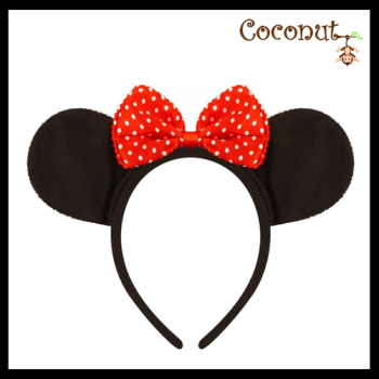 Mouse Ears With Bow