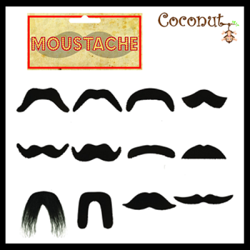 Moustache - Assorted styles