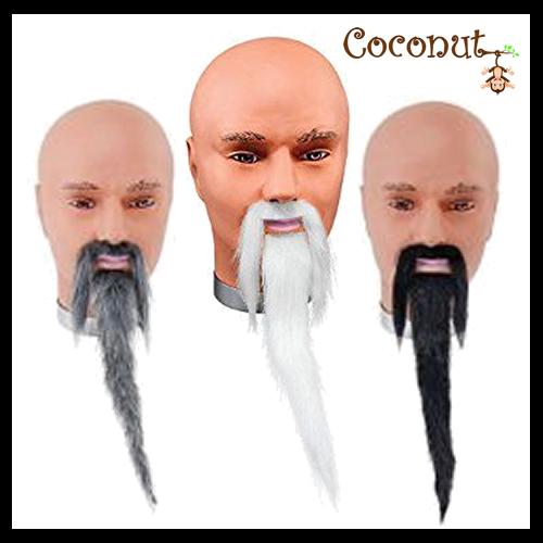 Wizard Beard and Tash Set