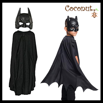 Batman Mask and Cape - Child
