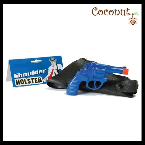 Shoulder Holster and Gun
