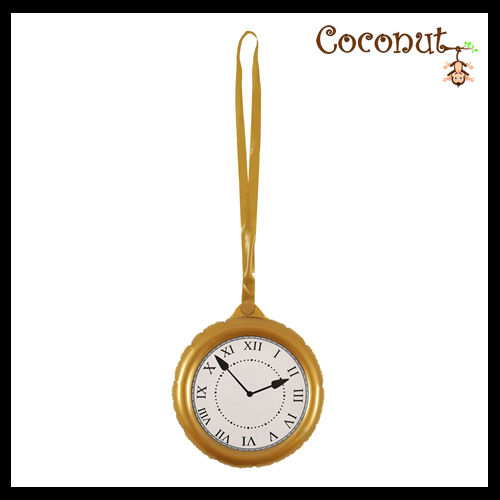 Jumbo Clock with Necklace