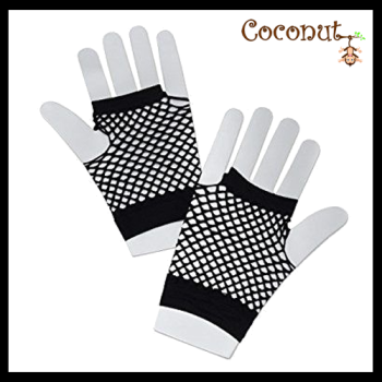 Fishnet Gloves - Black