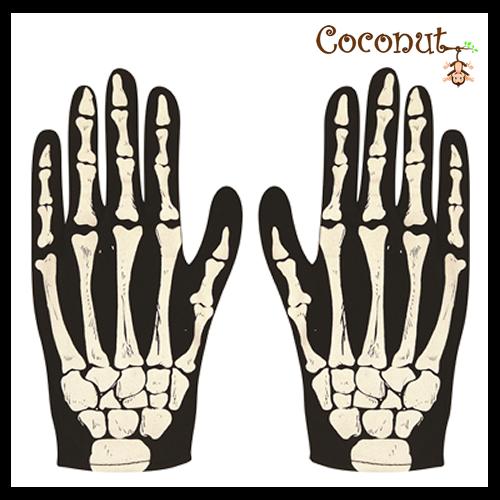 Skeleton Gloves - Adult's
