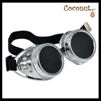 Steam Punk Goggles - Silver
