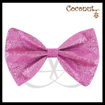 Glitter Bow - Pink