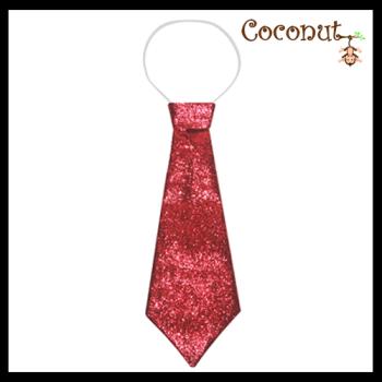 Glitter Tie - Red