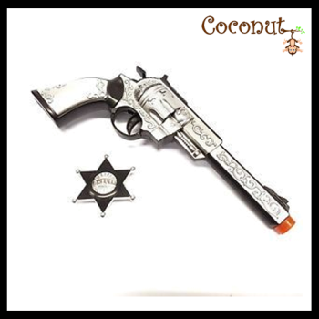 Cowboy Gun with Badge