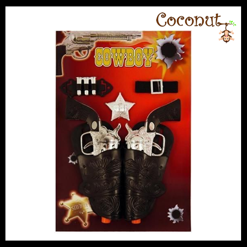 Cowboy Twin Gun Set