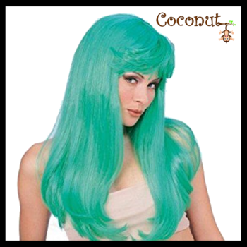 Glamour Wig - Green