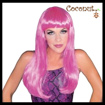 Glamour Wig - Hot Pink