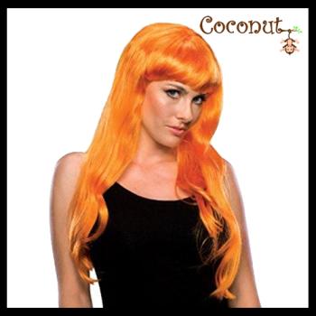 Glamour Wig - Orange