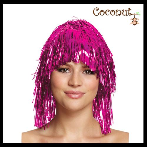 Hot Pink Tinsel