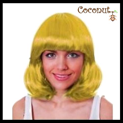 Mid Yellow Wig