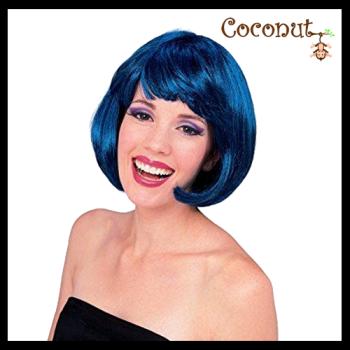 Super Model Wig - Blue/Black
