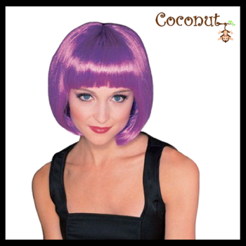 Super Model Wig - Purple