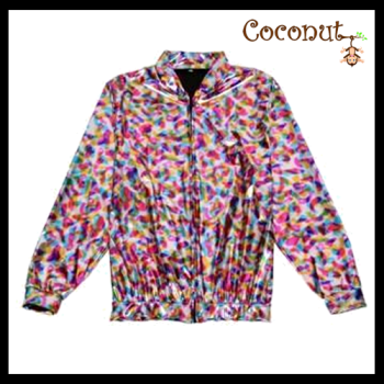 Hollographic Jacket - Rainbow