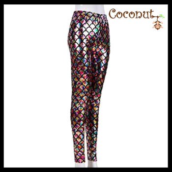 Mermaid Leggings - Rainbow