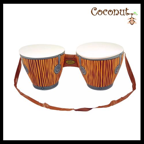 Bongo Drums - 27cm x 25cm x 62cm