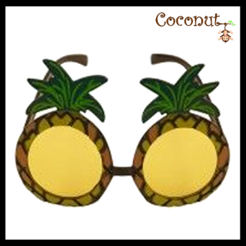 Pineapple with Yellow Lens