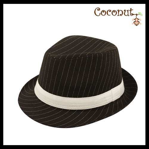 Gangster Pinstripe - Black