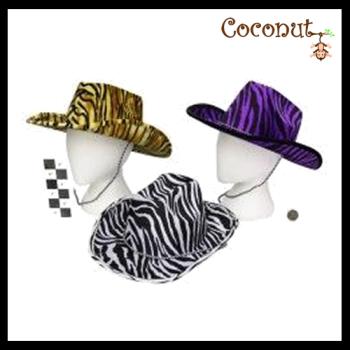Leopard Print Cowboy Hats