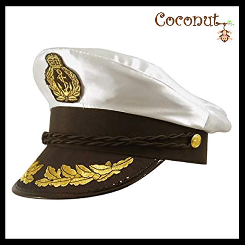 Satin Captain's Hat