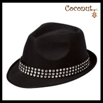 Trilby with Gem Stones