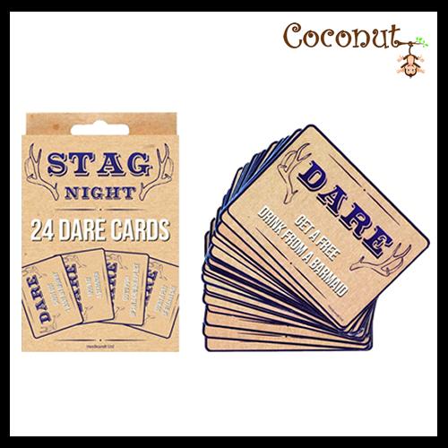 Stag Night Dare Cards