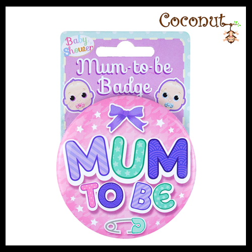 Mum to Be Badge - Pink