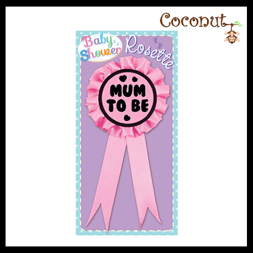 Mum to Be Rosette - Pink