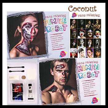 Robot Face Painting Kit