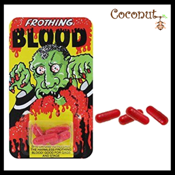 Frothing Blood Capsules