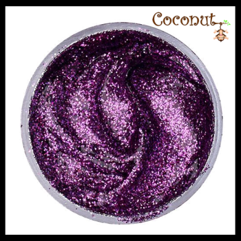Purple Glitter Gel (12ml)