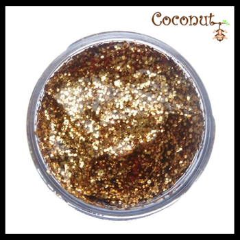 Red Gold Glitter Gel (12ml)