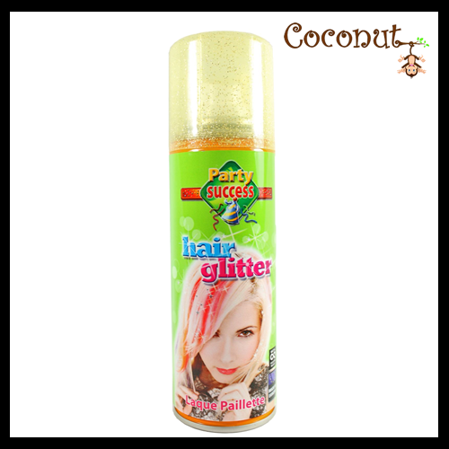 Glitter Hairspray - Gold