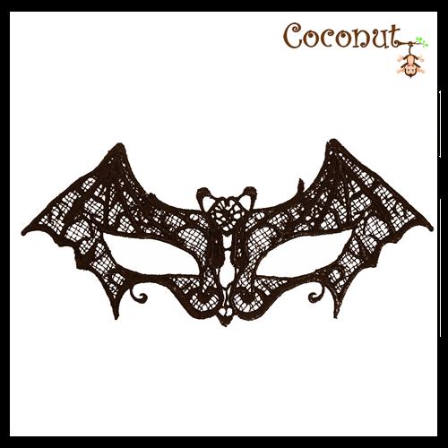 Black Lace Bat