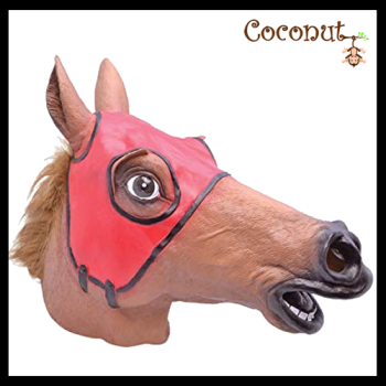 Race Horse - Latex Mask
