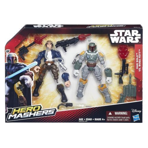 Han Solo vs Boba Fett - Hero Mashers