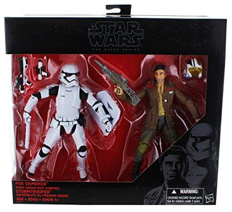 The Black Series - Poe Dameron & First Order Riot Control Storm Trooper