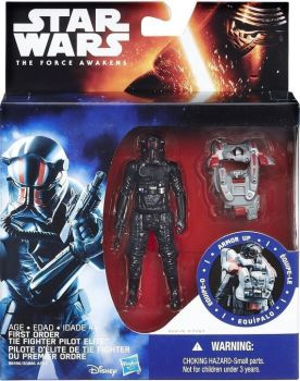 First Order Tie Fighter Pilot Elite - Armour Up Figure