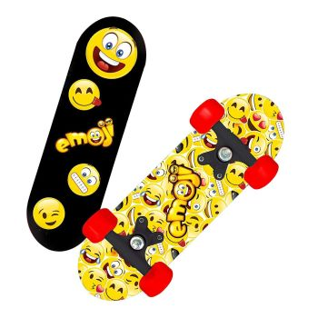 Mini Skateboard - Emoji