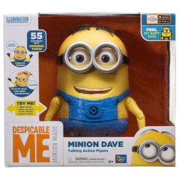 Minion Dave Talking Action Figure